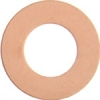 Metal Blank 24ga Copper Washer-round 25mm With Hole